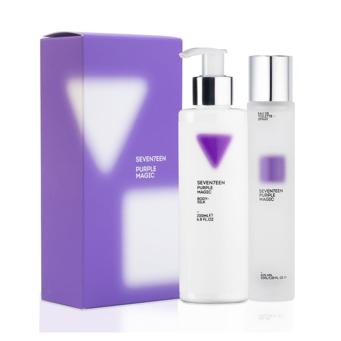 Purple Magic Set Body Silk 200ml & Eau de Toilette 50ml