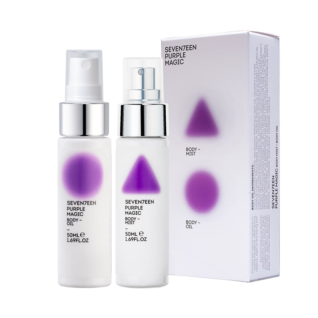 Purple Magic Set Body Mist 50ml & Body Oil 50ml