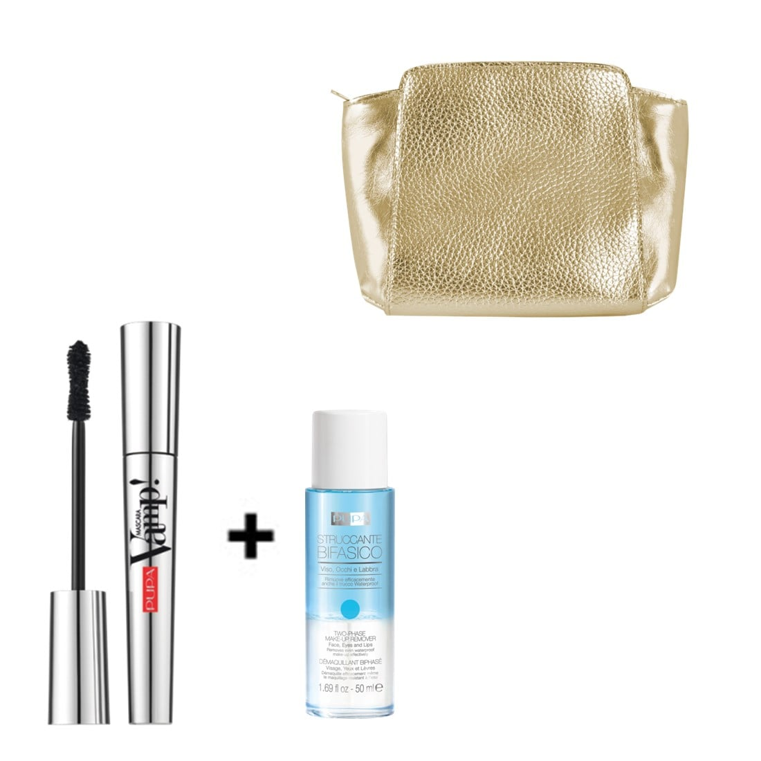 Set Vamp Mascara & Two-Phase Make-Up Remover