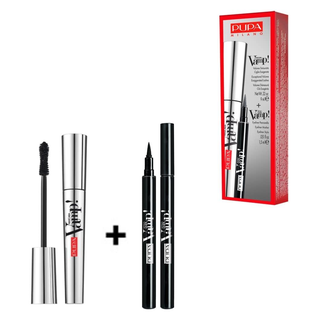 Set Vamp Mascara & Stylo Eyeliner Marker